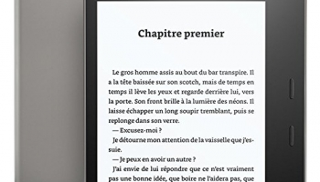 Avis liseuse Amazon Kindle Oasis